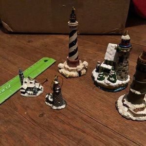 Lighthouse Ornaments